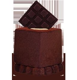 il pasticcino cinque sensi cioccolato