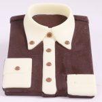 camicia cioccolato